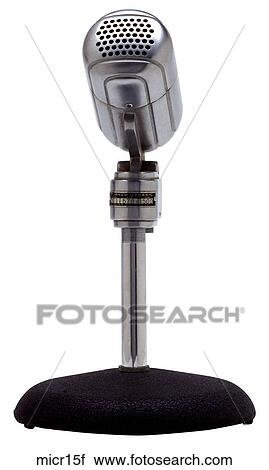 stock photography of maker turner model dynamic 211 year 1937 front view microphone micr15f. Black Bedroom Furniture Sets. Home Design Ideas