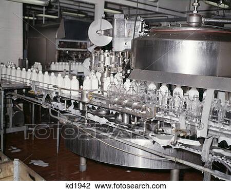 影像 - 裝瓶, 牛奶, 玻璃瓶子, 機器, H... - 裝瓶, 牛奶, 玻璃瓶子, 機器,