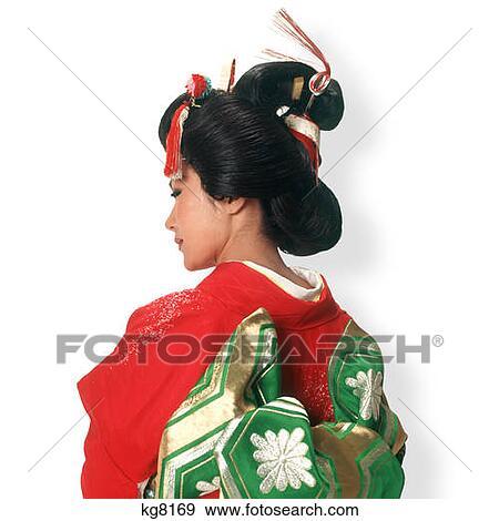 Gemälde von Geisha Frauen