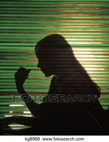 Pictures Of 1970 1970s Worried Woman Girl Profile