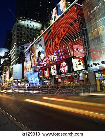 Virgin Megastore New York City