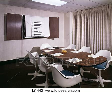 Stock Photo Of S Office Conference Room With Table Chairs - Conference room table and chairs clip art