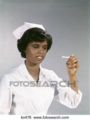 Stock Images Of 1960s African American Woman Nurse Uniform