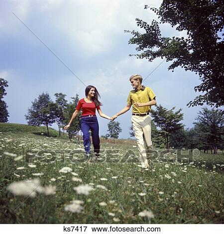 find romance through running