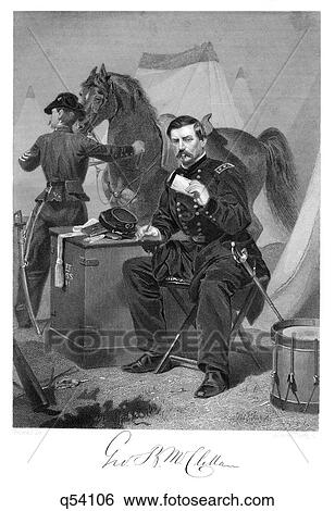 Stock Images Of 1800s 1865s General George Brinton