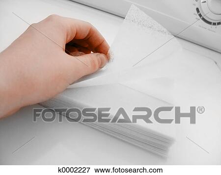 Picture Of Dryer Sheets Ii K0002227 Search Stock
