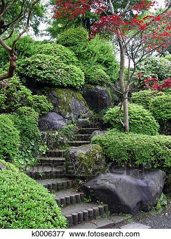 image jardin japonais k0006377 recherchez des photos des images des photographies et des. Black Bedroom Furniture Sets. Home Design Ideas