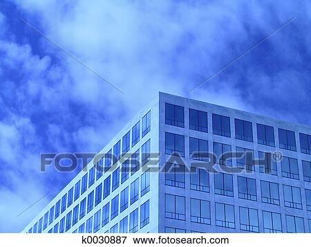 image bleu bureau fenetres k0030887 recherchez des photos des images des photographies. Black Bedroom Furniture Sets. Home Design Ideas