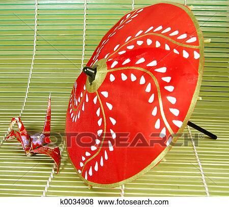 Immagini origami e ombrello k0034908 cerca archivi for Pavimento giapponese