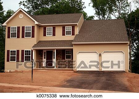 Immagini costruzione fine su casa nuova k0075338 for Ispezione a casa su nuova costruzione