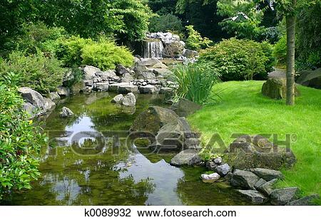Stock foto japanische kleingarten k0089932 suche stockfotografie fotodrucke fotos bilder - Japanischer kleingarten ...