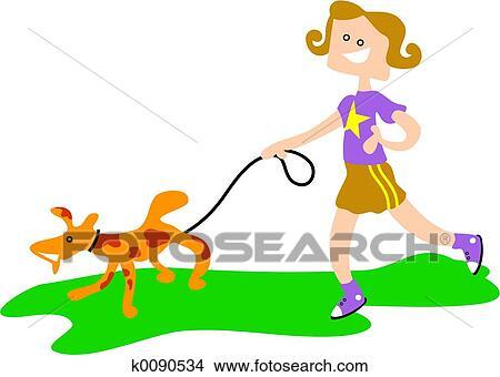 手绘图 - 宠物, 狗