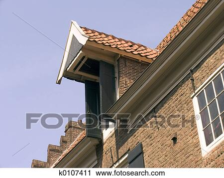stock photography of dormer k0107411