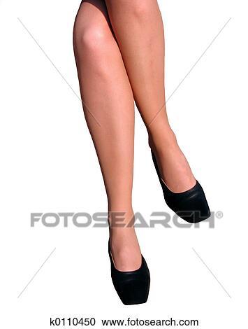 Banques de photographies femme jambes k0110450 for Collant mural francais
