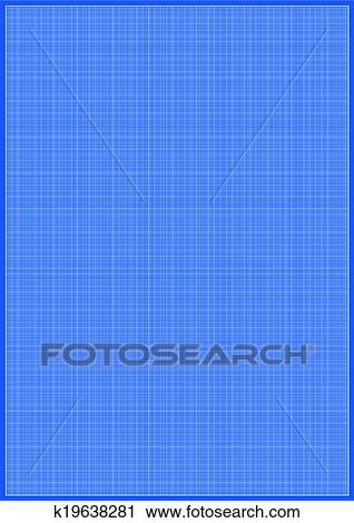 Clipart of vector millimeter paper a3 size k19638281 search clip blueprint millimeter paper a3 reel size sheet white background malvernweather Choice Image