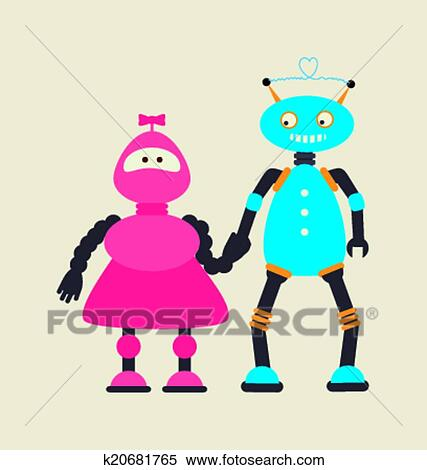 剪贴画 - 机器人, 设计图片