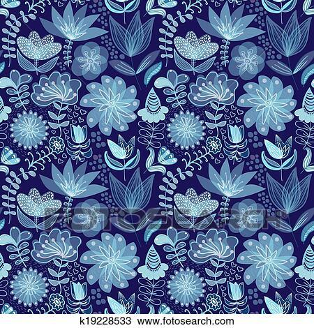 Clipart astratto floreale fondo estate tema - Fondo rasante per piastrelle murali ...