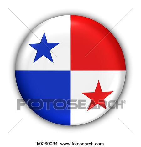 Drawings Of Panama Flag K Search Clip Art Illustrations - Panama flag