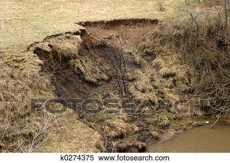 Stock image of soil erosion 2 k0274375 search stock for Soil erosion in hindi
