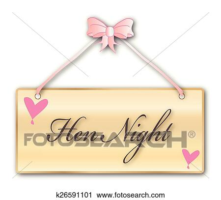 Clipart of Hen Night k26591101 - Search Clip Art, Illustration ...