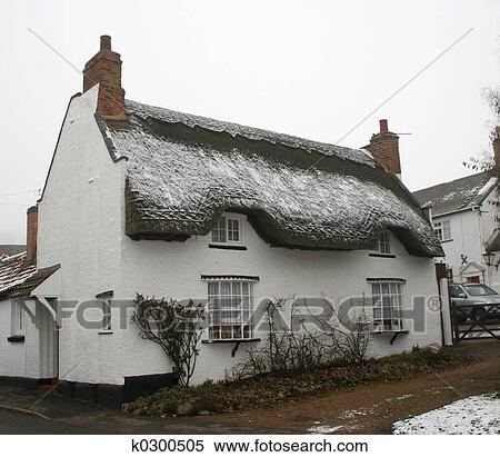 Archivio immagini inglese cottage thatched k0300505 for Piccolo cottage inglese