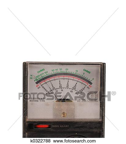 How to use an analog multimeter