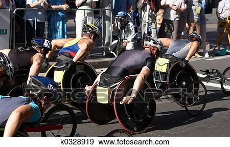 Archivio Fotografico Atleti Sedia Rotelle K0328919