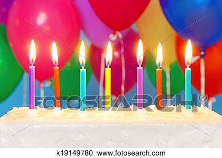 14 свечек на торту фото