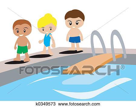 Schwimmen cliparts kostenlos  Zeichnung - schwimmen k0349573 - Suche Clipart Illustration ...