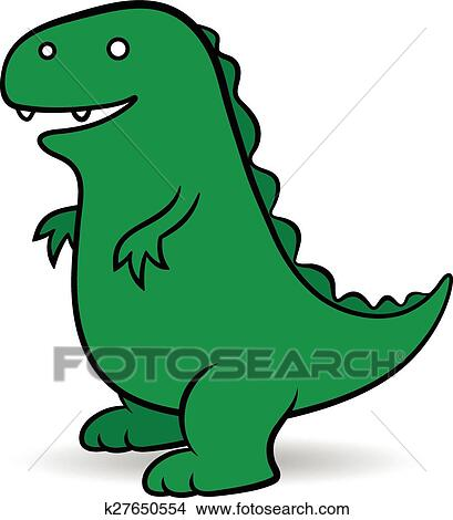 clipart of green cartoon godzilla monster k27650554 search clip rh fotosearch com gorilla clip art black and white gorilla clipart