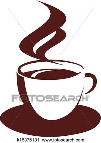 clipart doodle sketch of steaming coffee cup fotosearch search clip art illustration