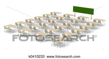 手绘图 - 教室, 3