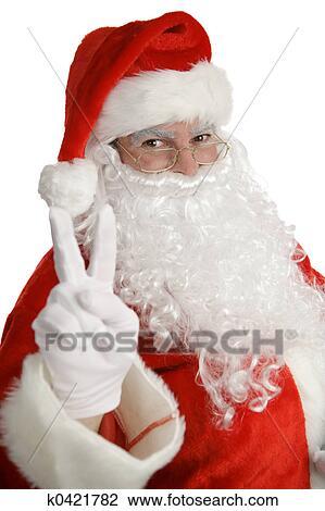 圣诞老人, 和平征候 放大图片