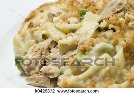 Tuna Noodle Casserole Clip Art