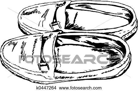 手绘图 - 鞋子