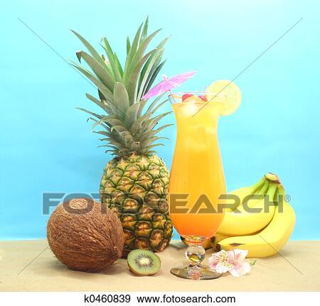 banque de photographies fruit  et  boisson tropicale Une Glace a La Vanille and Choclat Une Glace De Vanille