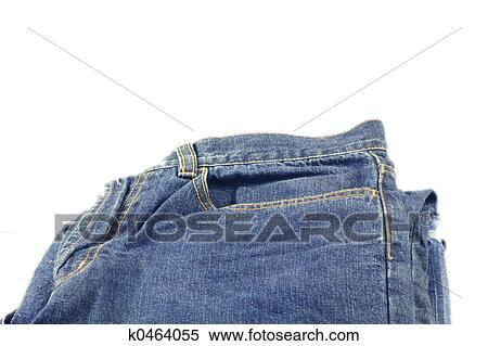 折叠, 牛仔裤