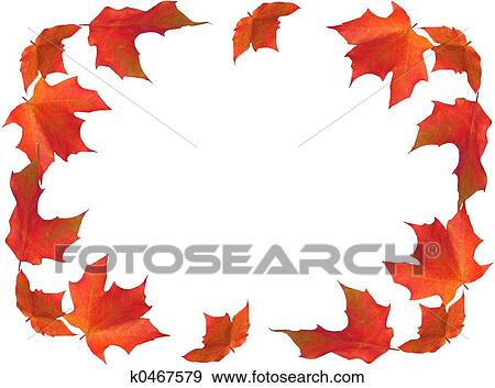 Fall Border Illustrations Stock Illustration Fall
