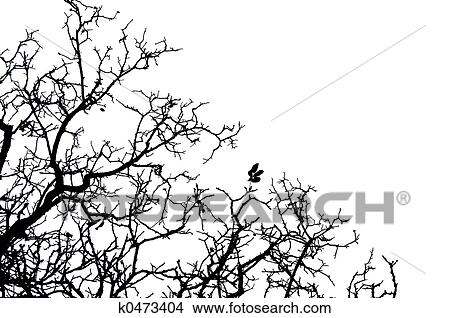 手绘图 - 树, 边界