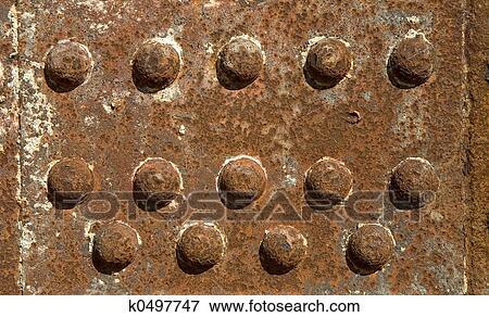Foto hierro viga con remaches k0497747 buscar fotos for Remaches de hierro