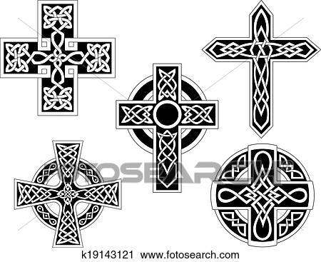 Immagini di croci celtiche