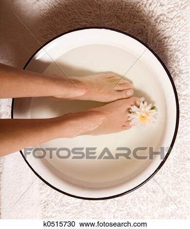 Ванночки для ног против грибка в домашних