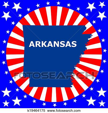 clipart map of the u s state of arkansas fotosearch search clip art