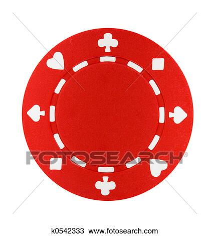 stock photo of red poker chip k0542333 search stock images poster rh fotosearch com poker chips clipart free poker chip clip art free