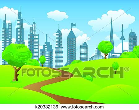 City Parks Clipart