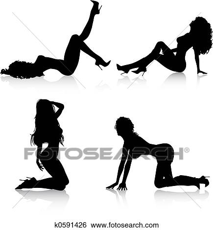 Really sexy and hot clip art phrase