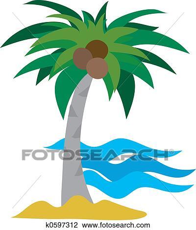 Clipart palmier k0597312 recherchez des cliparts des illustrations des dessins et des - Palmier clipart ...
