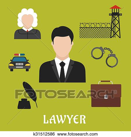 Search Lawyer Clip Art