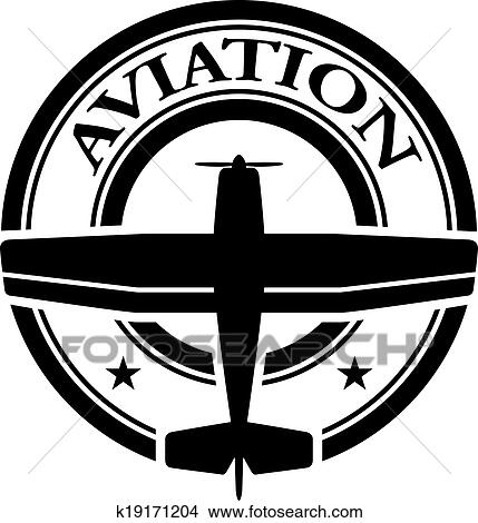 clipart of vector aviation stamp k19171204 search clip art rh fotosearch com aviation clipart free download aviation day clipart