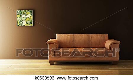 手绘图 - 沙发, 3d, 提供